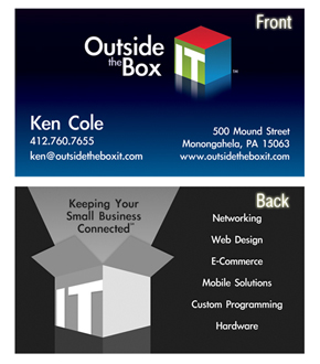 Outside the Box IT Business Card